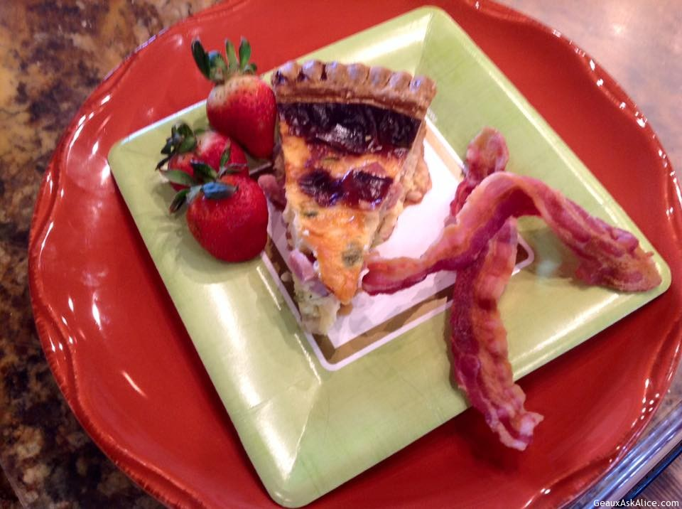 Heavenly Ham And Cheese Quiche