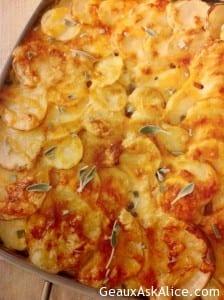 Cheesy Dauphinois Potatoes