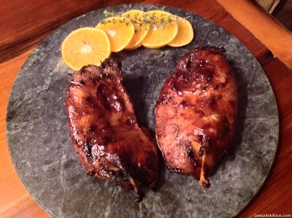 Pat's BBQ Mallard Duck