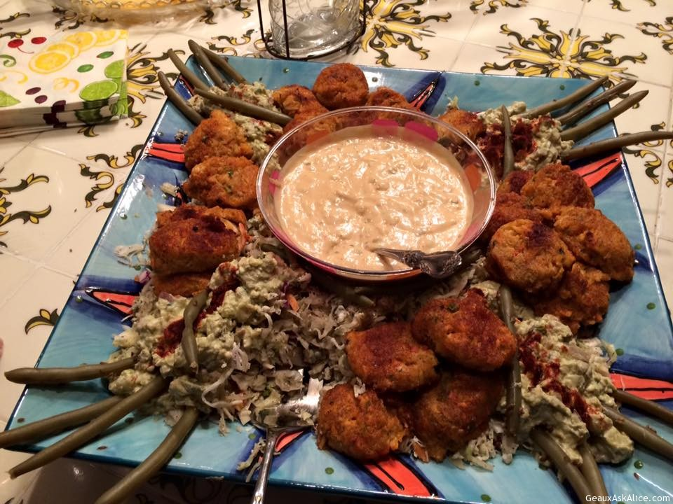 Shrimp Or Crawfish Cakes With Chipotle Tartar Sauce