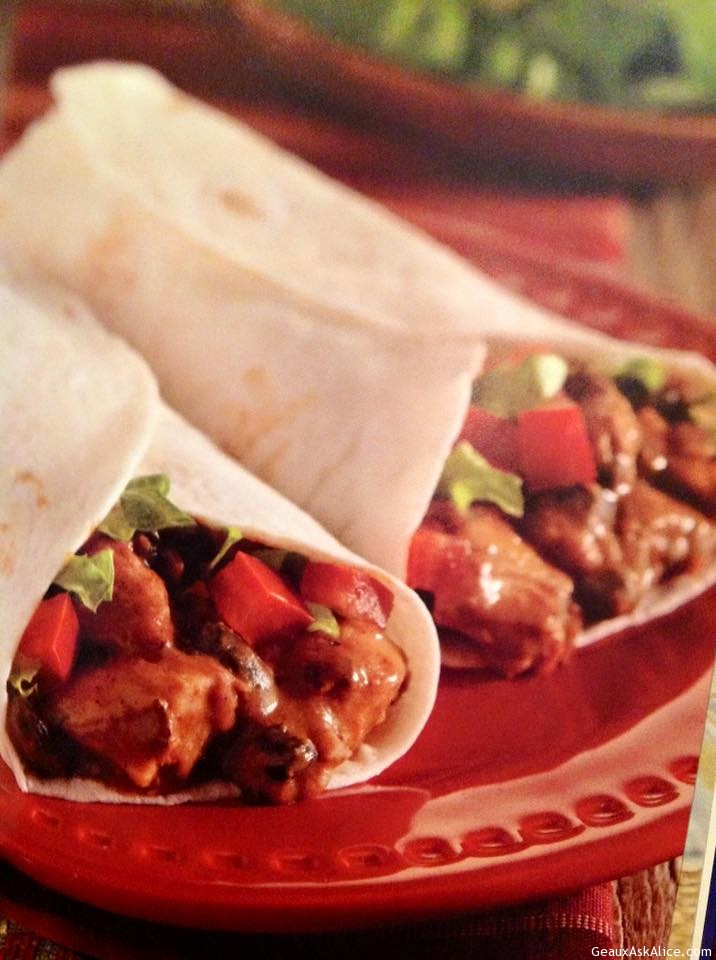 Spicy Chicken And Beef Burritos
