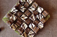 Toffee Brownies and Cream Cheese Topped Brownies