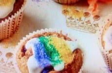 Baby King Cupcakes