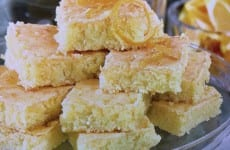 Paula Deen's Zesty Orange Bars