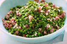 Peas and Prosciutto