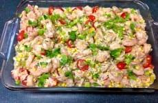 Speedy Shrimp Orzo Casserole