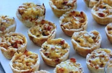 Crawfish Pie Appetizers