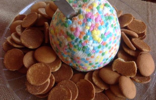 Nicole's Sweet Easter Cream Cheese Ball