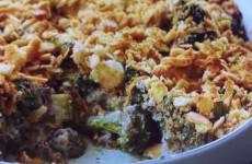Fabulous Mushroom and Broccoli Casserole
