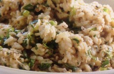 Grilled Eggplant Risotto