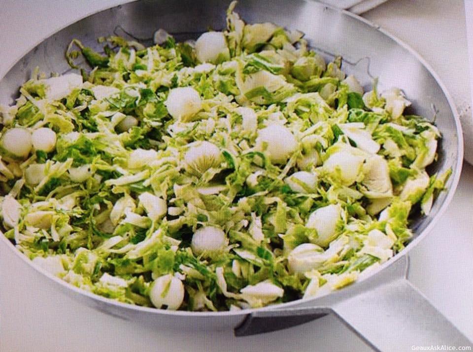Unique Brussels Sprout Hash