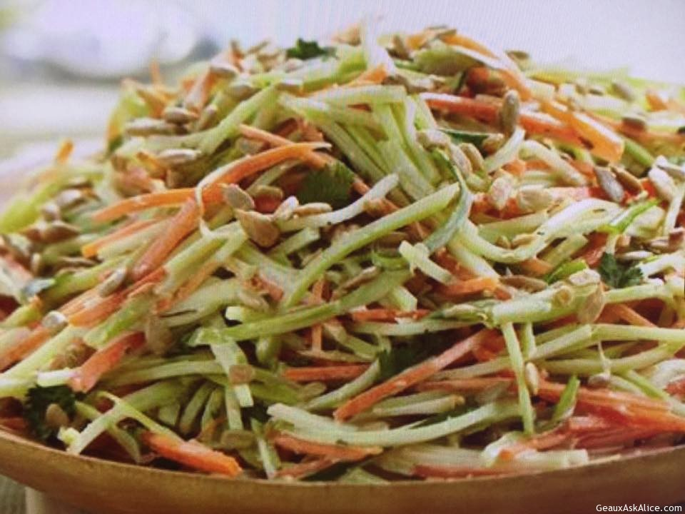 Fancy Broccoli Slaw