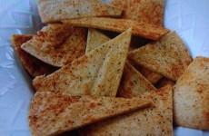 Home-made Pita Crisps