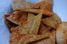 Home-made Pita Crisps