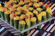 STAINLESS STEEL JALAPENO POPPERS GRILLING RACK