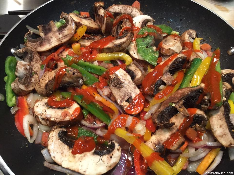 Spicy Chicken And Beef Medley Stir-Fry