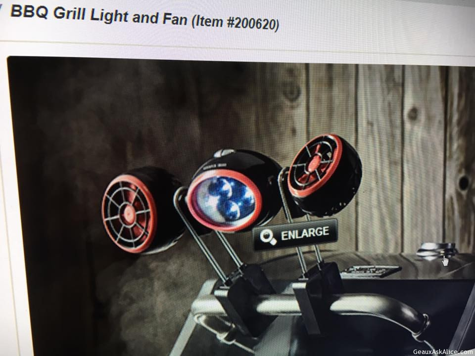 Bbq Grill Light And Fan Geaux Ask Alice