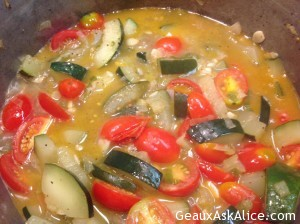 Creamy Zucchini Soup 1