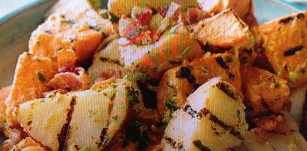 Variety Grilled Potato Salad