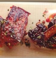 Pepper Jelly Glazed Ribs