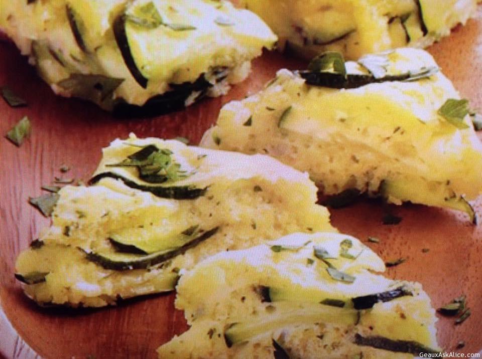 Zesty Zucchini Bites