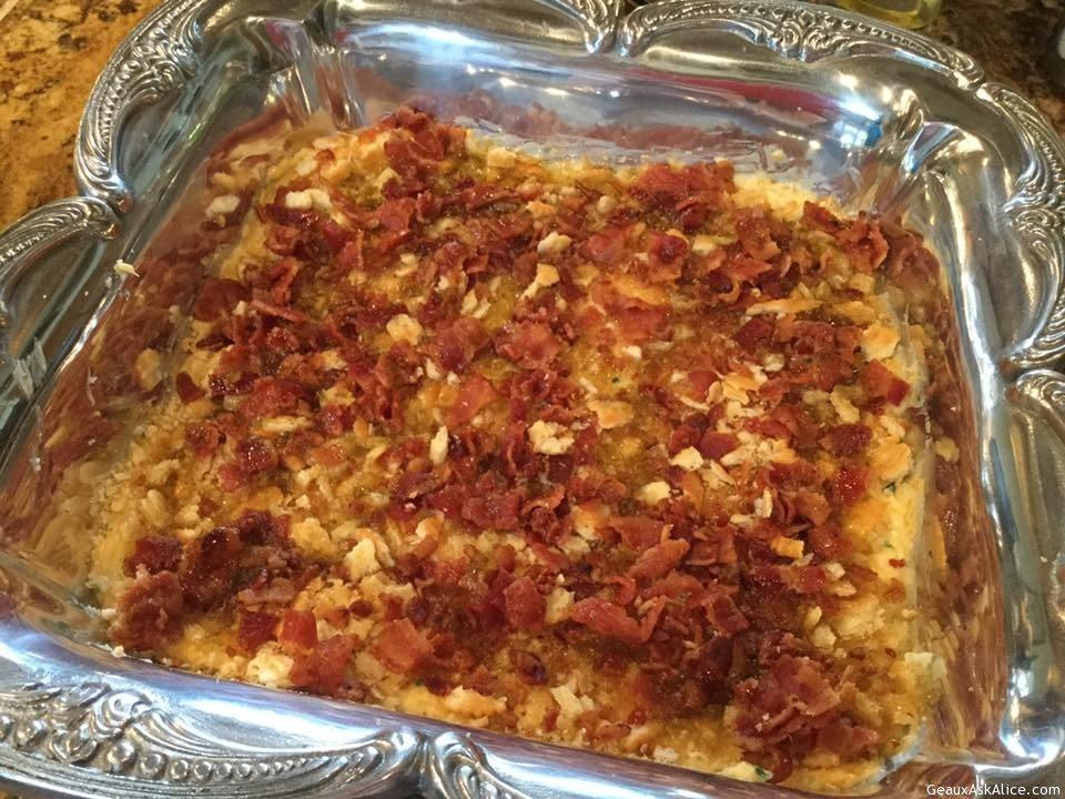 Allison's Fabulous Baked Bacon Cheese Dip