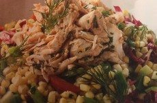 Crab and Corn Macque Choux Salad