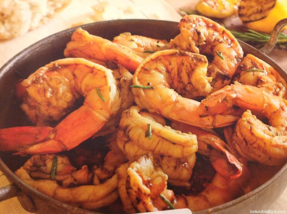 Famous New Orleans BBQ Shrimp
