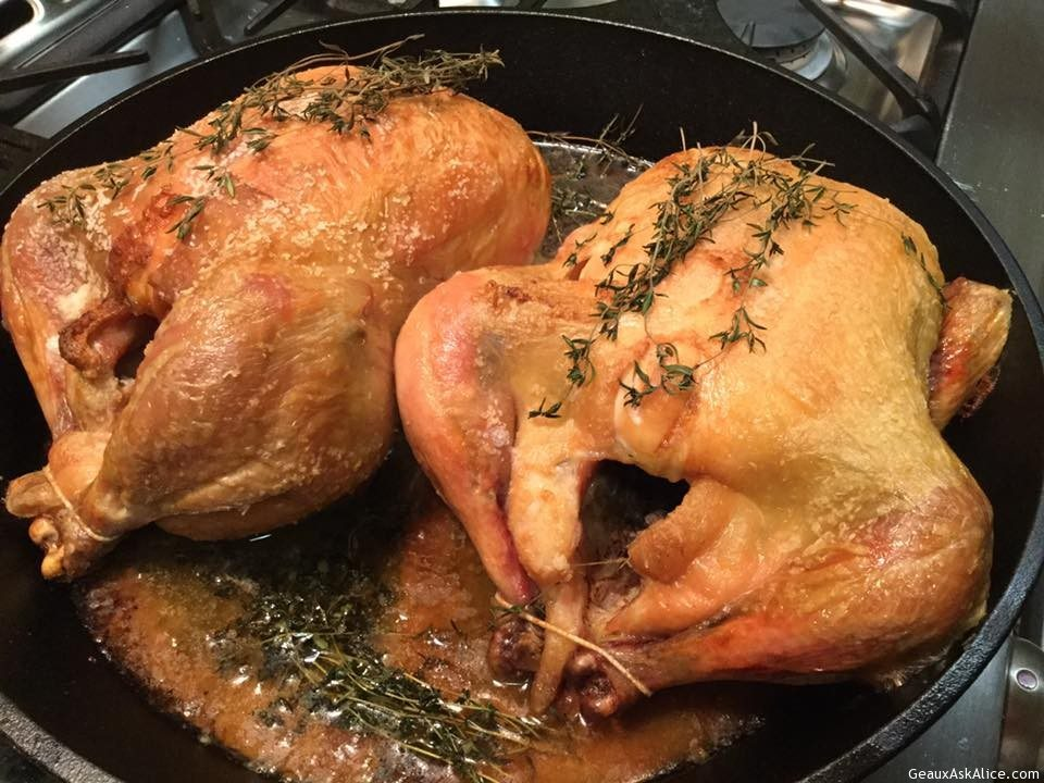 Paul Fleming's Famous Roasted Thyme Chicken