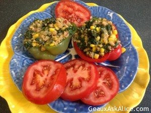 amazing-spinach-ground-chicken-and-corn-stuffed-peppers