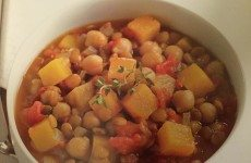 Chickpea, Lentil and Butternut Squash