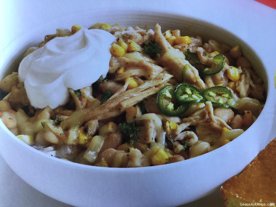 Corny Chicken Chili
