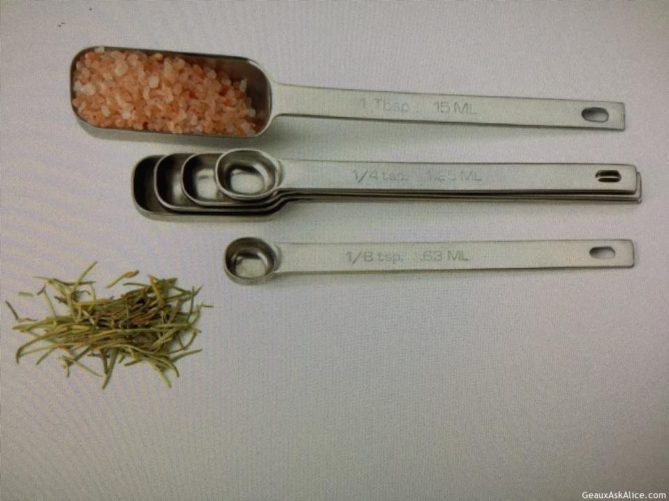 Endurance Six-Piece Spice Measuring Spoon Set!