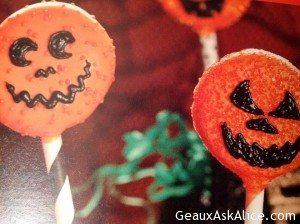 Halloween Cookie Wands