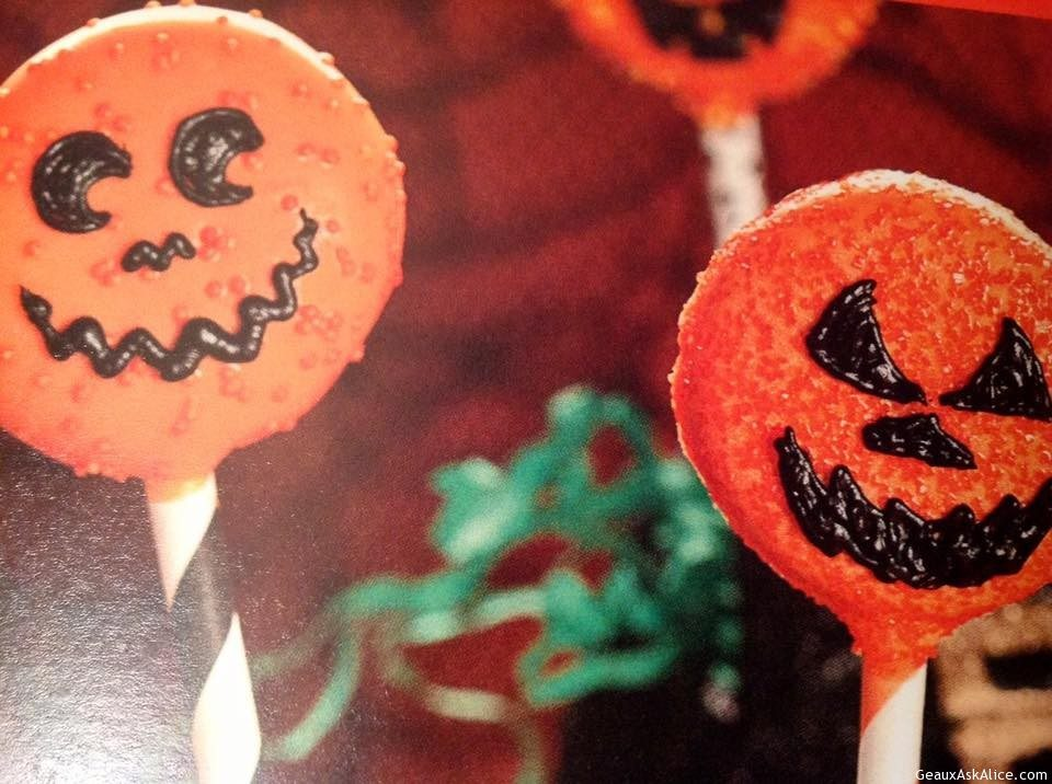 Halloween Cookie Wands