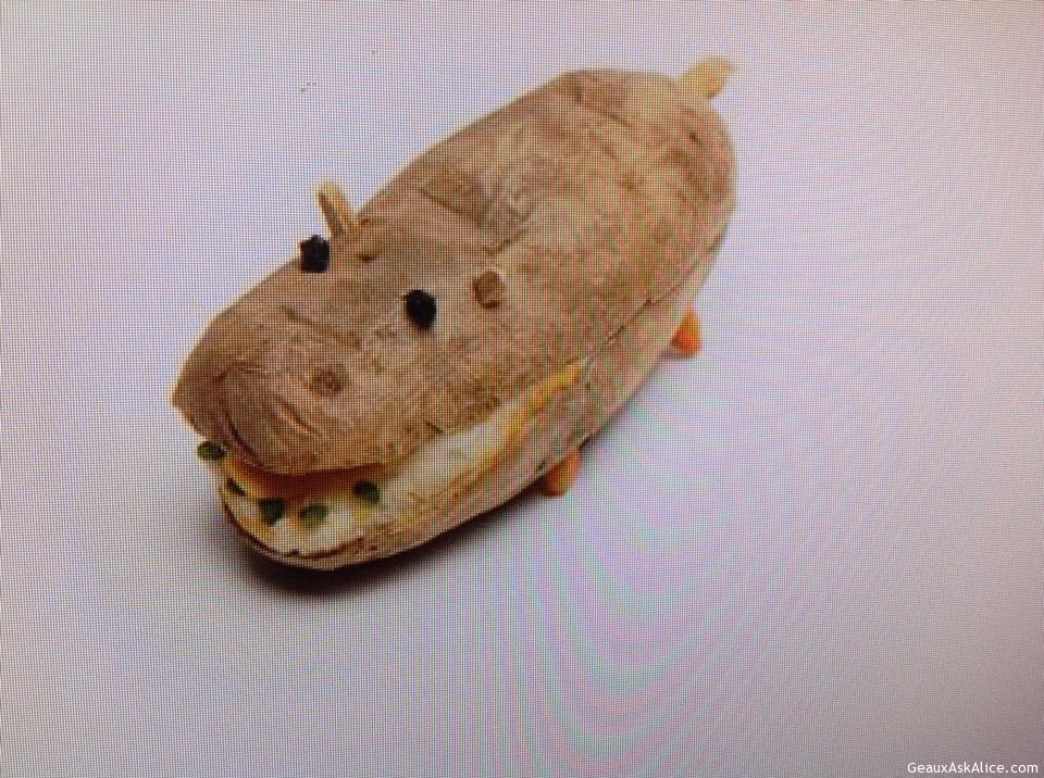 Stuffed Hippotatomus