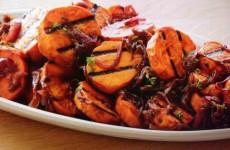 Caramelized Onion and Sweet Potato Salad