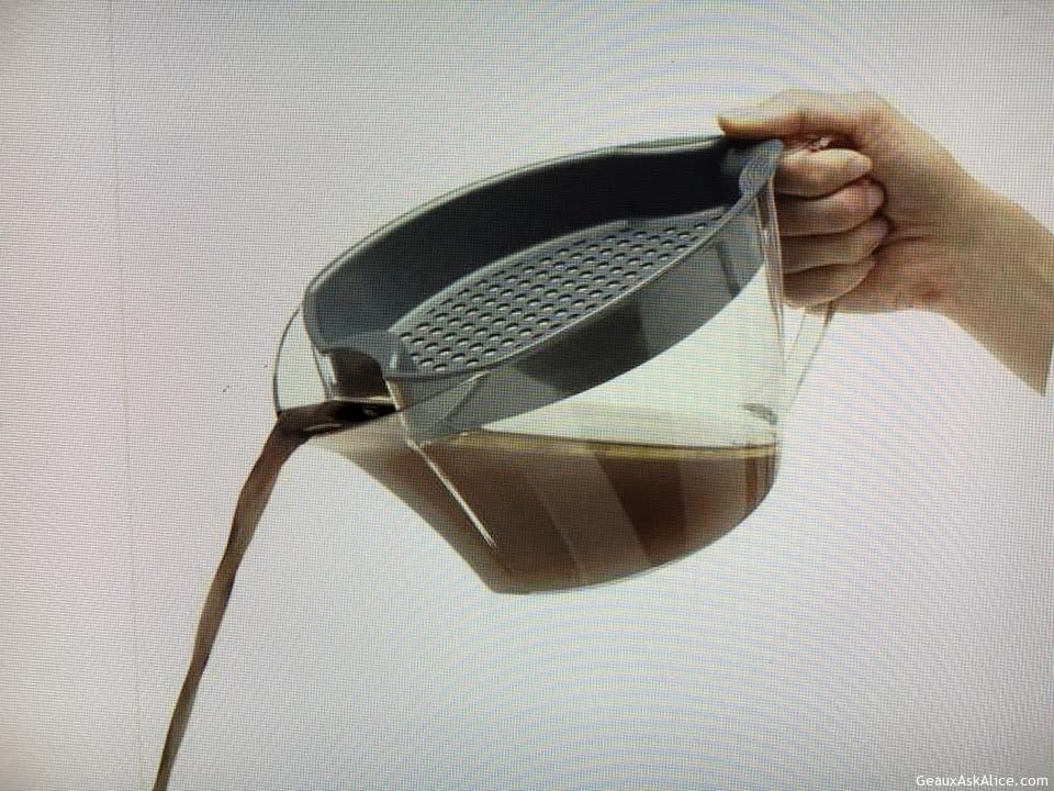 Today's Gadget From E's Kitchen In Lafayette, LA Is The Truedeau Gravy Separator!
