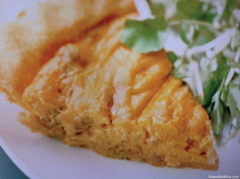 Andouille And Sweet Potato Pie