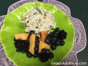Greek Yogurt Chunky Chicken Salad