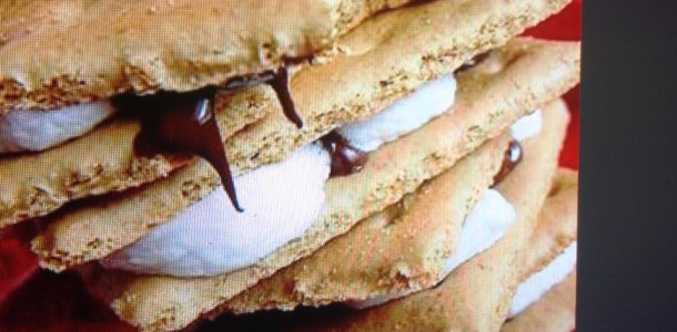 Microwaved S'mores
