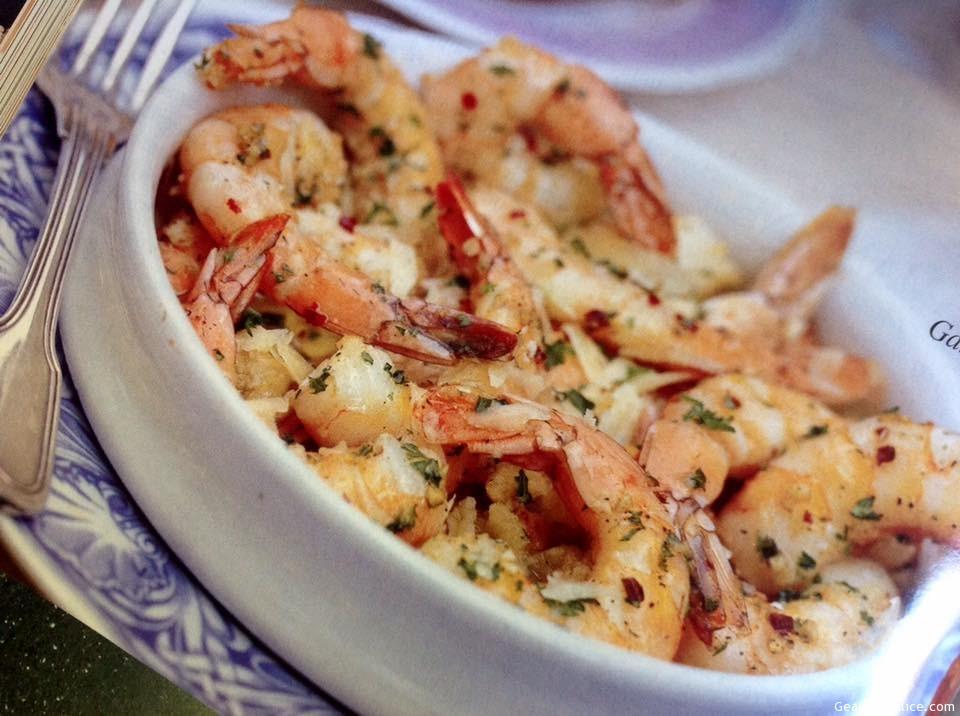 Parmesan Garlic Shrimp