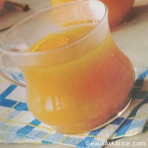 Warm Cider Punch
