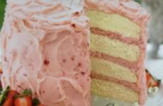 Delightful Strawberry Mousse Cake