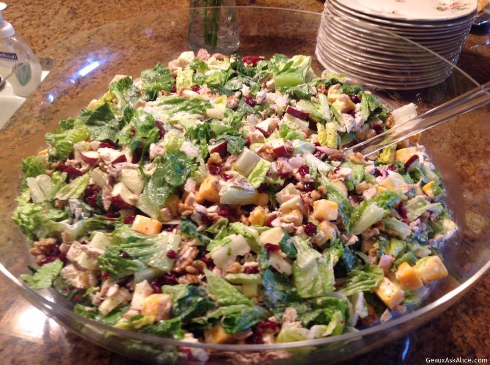 Sis's Chicken Salad With Poppy Seed Dressing