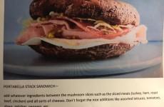 Portabella Stack Sandwich