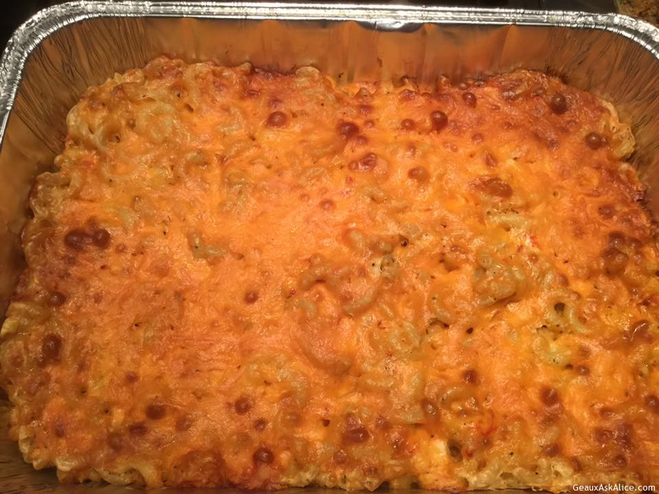 Alice's Savory Crawfish Mac & Cheese