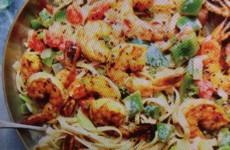 Classic Cajun Shrimp Linguine