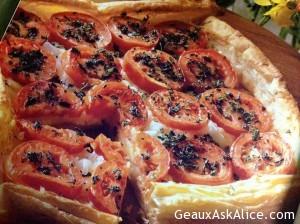 Herb-Tomato Tart