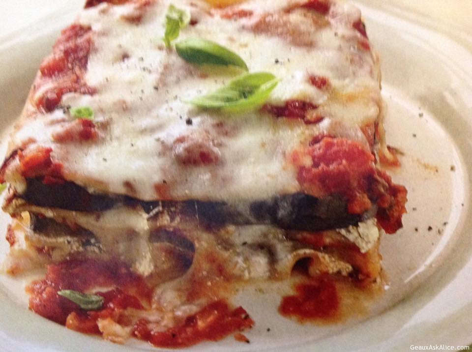 Maw-Maw's Crock-Pot Eggplant Lasagna